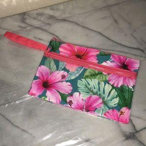 New! Large floral waterproof bag